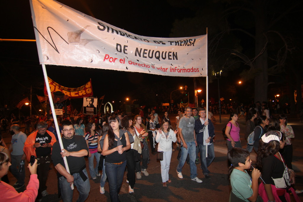 Marcha Madres 2012  SPN